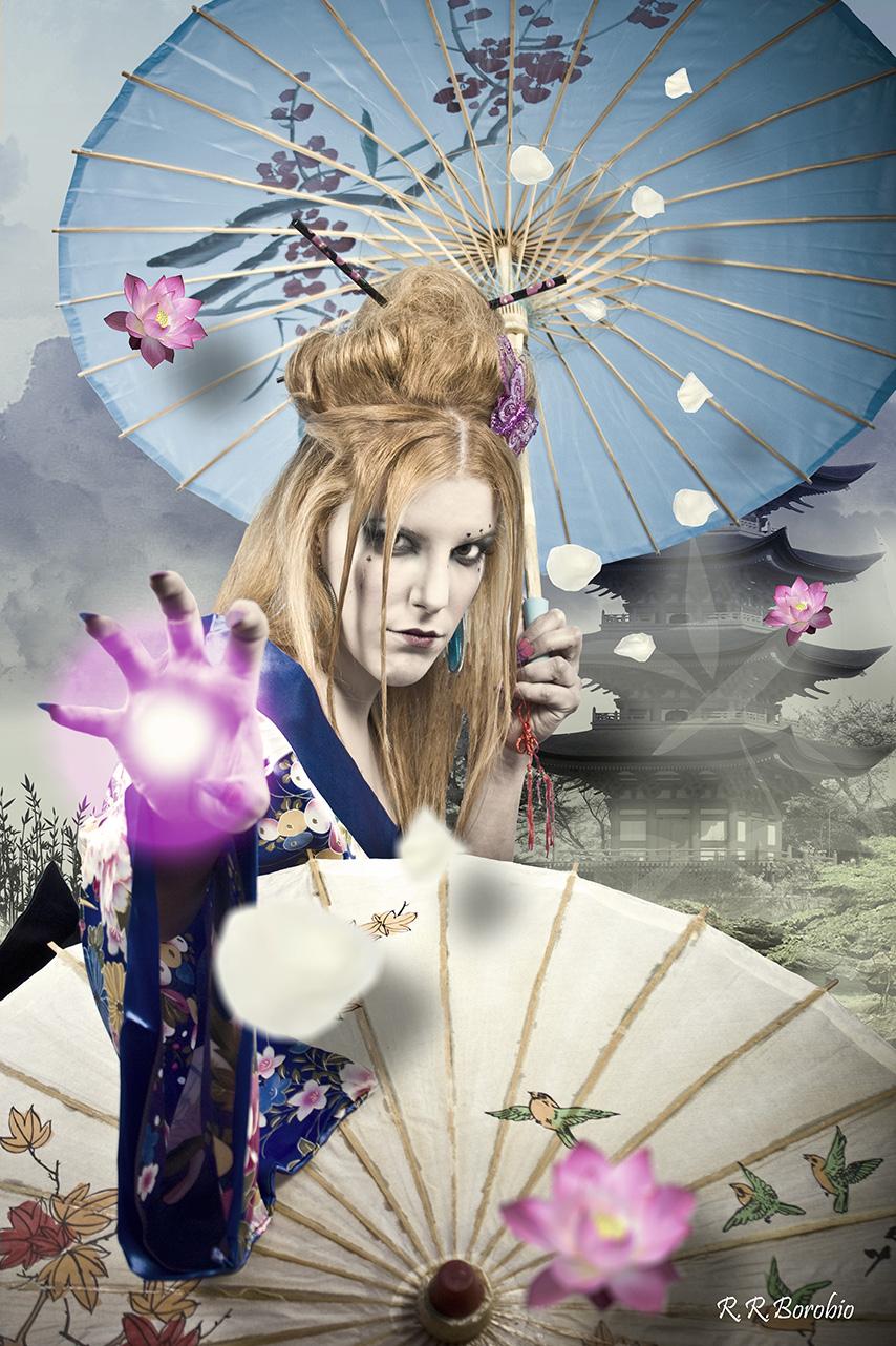 Geisha naturaleza II