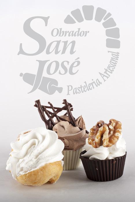 Fotografía de producto pastelillos Obrador San José