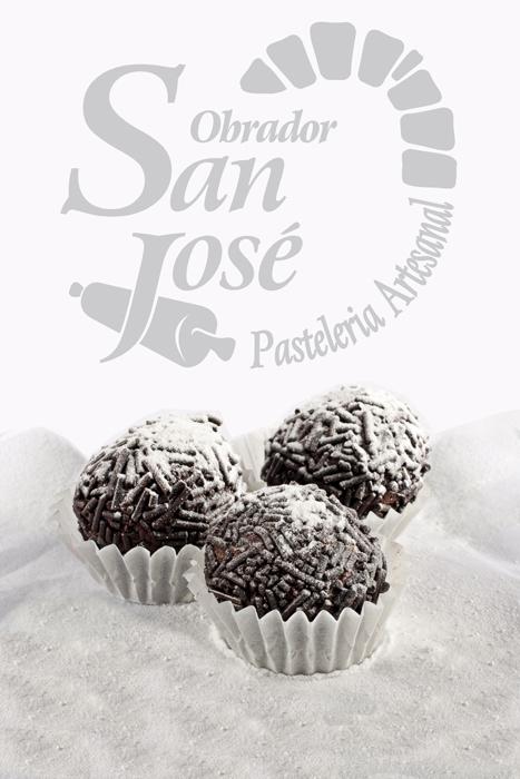 Fotografía de producto trufas Obrador San José