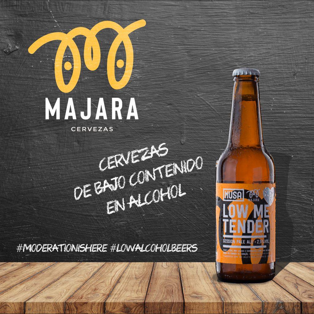 fotografia producto Cervezas Majara para Instagram